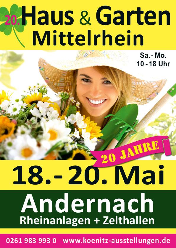 3 Tage; 17. Haus, Garten & Handwerk,56626 Andernach @ 56626  | Andernach | Rheinland-Pfalz | Deutschland